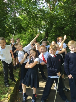 Team Litter Pick at the park